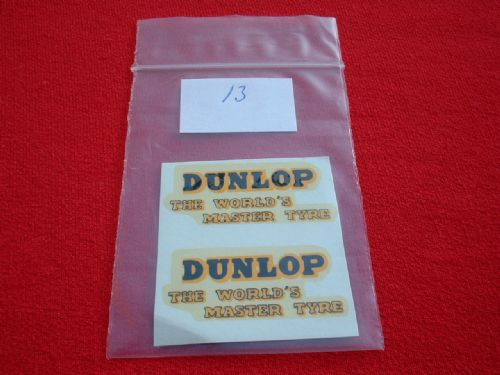 "Dinky Toys 451 TROJAN ""DUNLOP THE WORLDS MASTER TYRE"" TRANSFERS / DECALS"